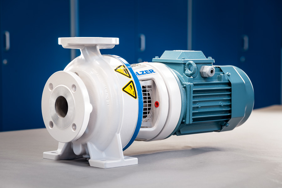 AHLSTAR close coupled end suction single stage centrifugal pump