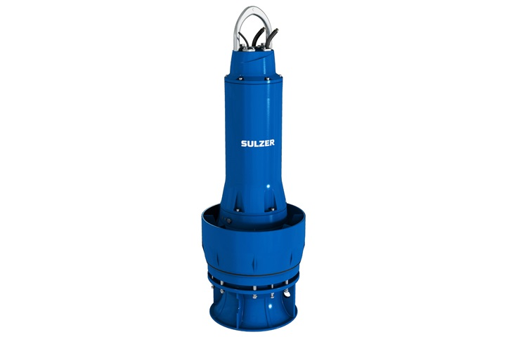 Submersible mixed flow column pump type ABS AFLX