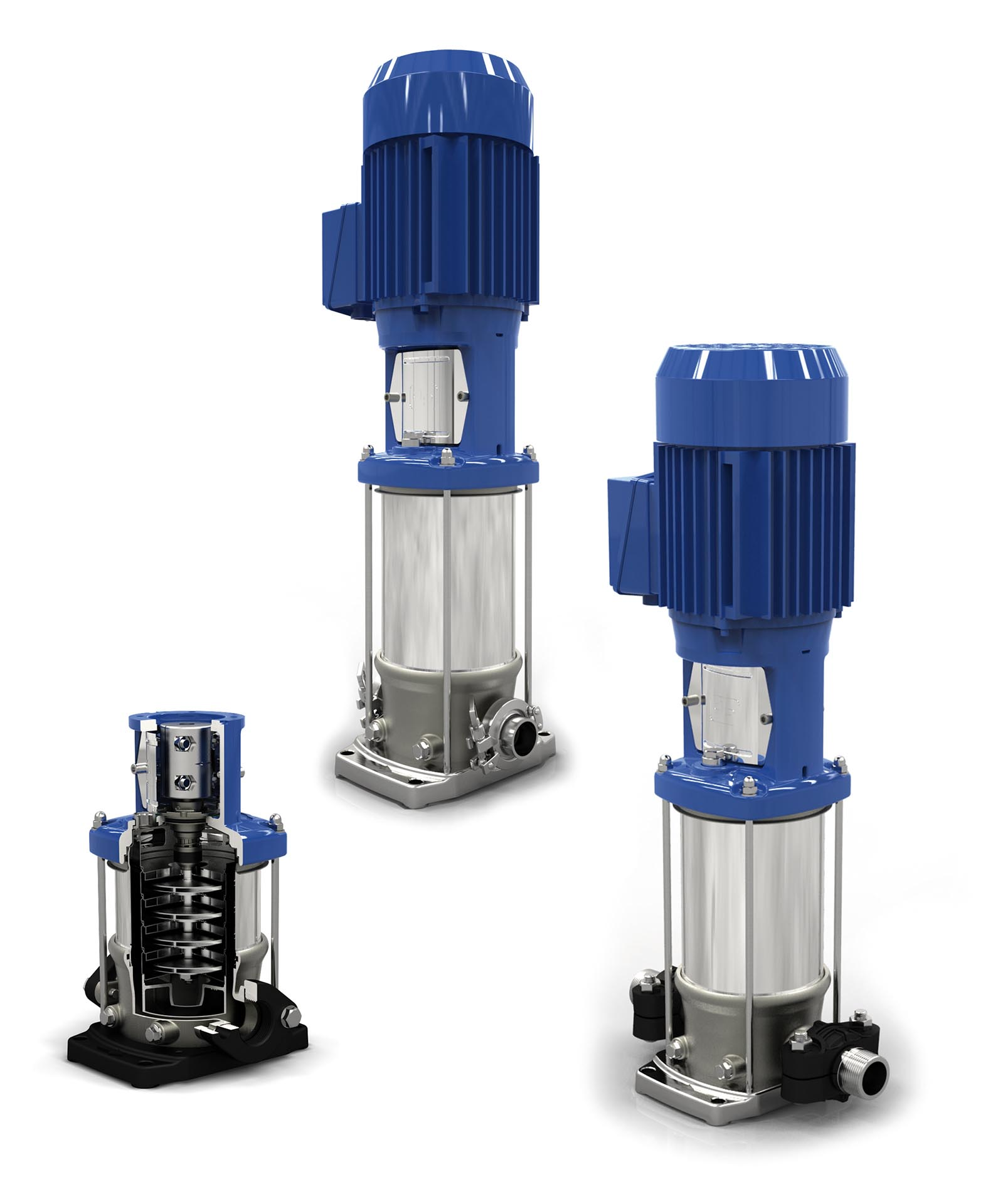 VMS vertical multistage pump range