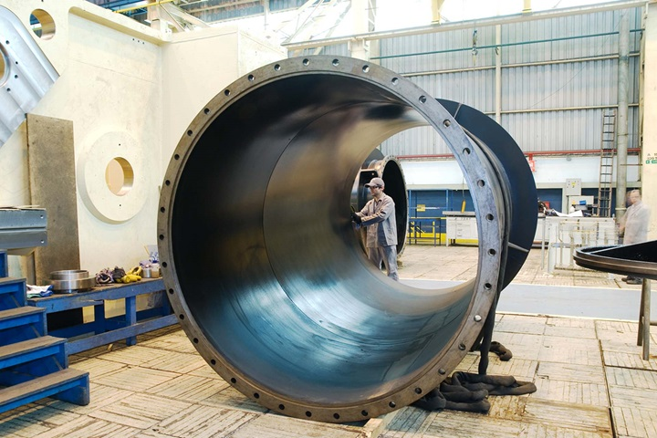 All of the pump sections were designed, built and assembled in Brazil