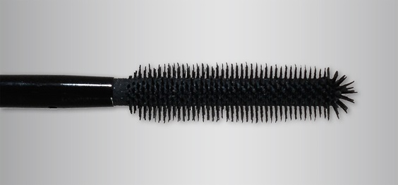 Mascara brush produced by additive manufacturing