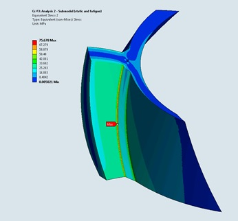 Finite element analysis of a welding seam