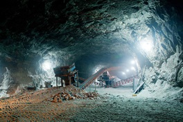 Underground mine work