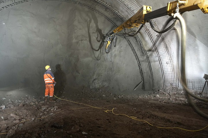 Dewatering in German tunnel project