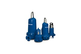 Group of submersible grinder pumps, type ABS Piranha