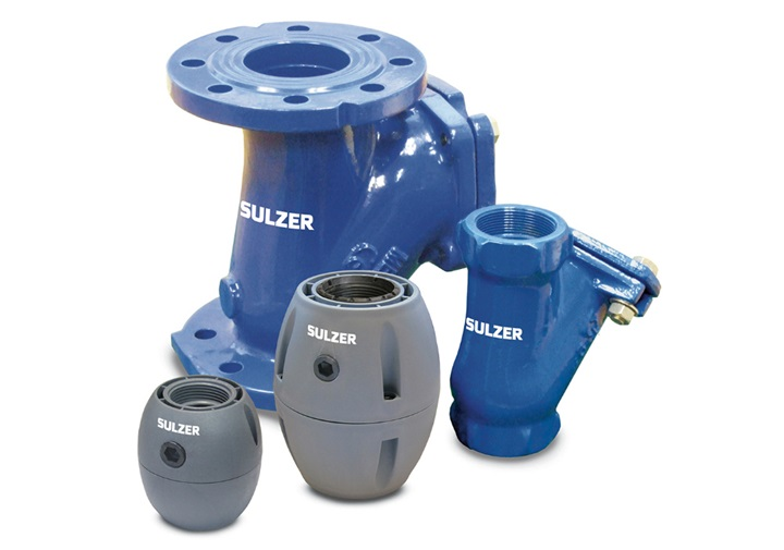 Check valves type ABS for submersible pumps