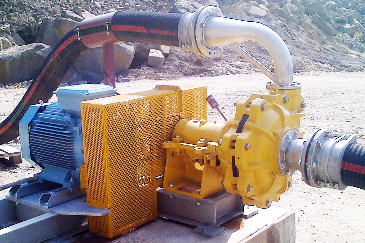 Heavy duty slurry pumps type Ensival Moret EMW