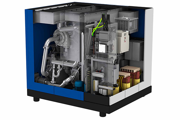 Totally oil-free HSR turbocompressor – built to last for a long time