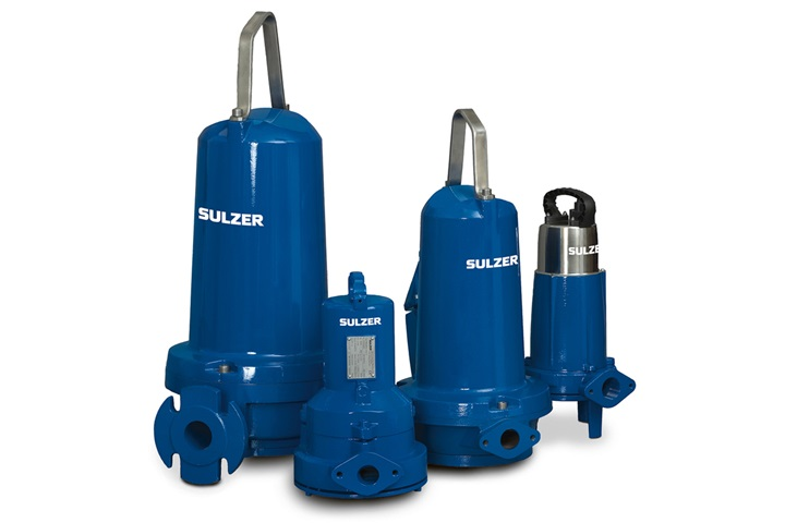 Submersible grinder pump range type ABS Piranha