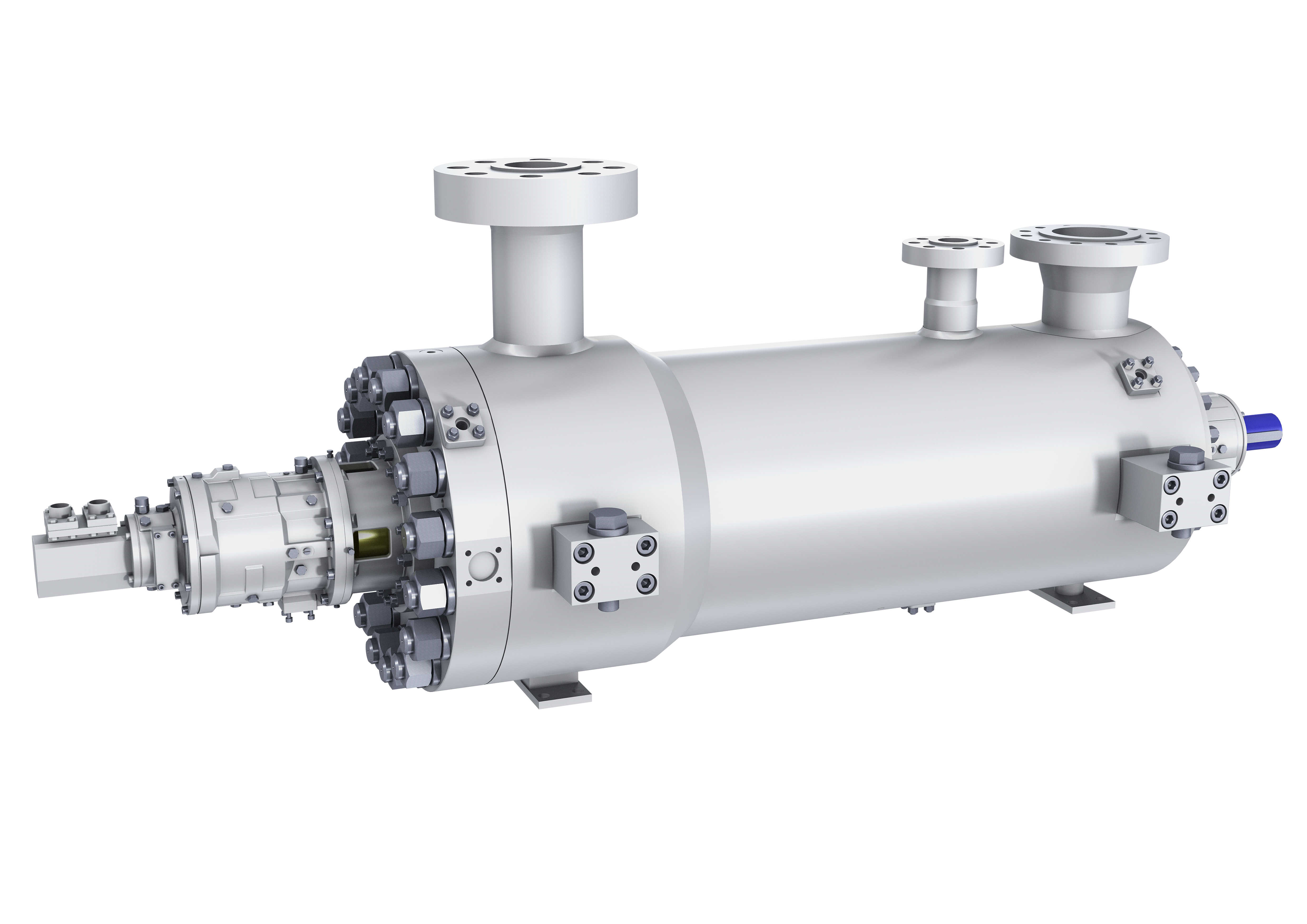 GSG diffuser style barrel pump for feedwater applications