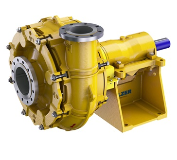 Heavy duty slurry pumps type Ensival Moret EMW-M