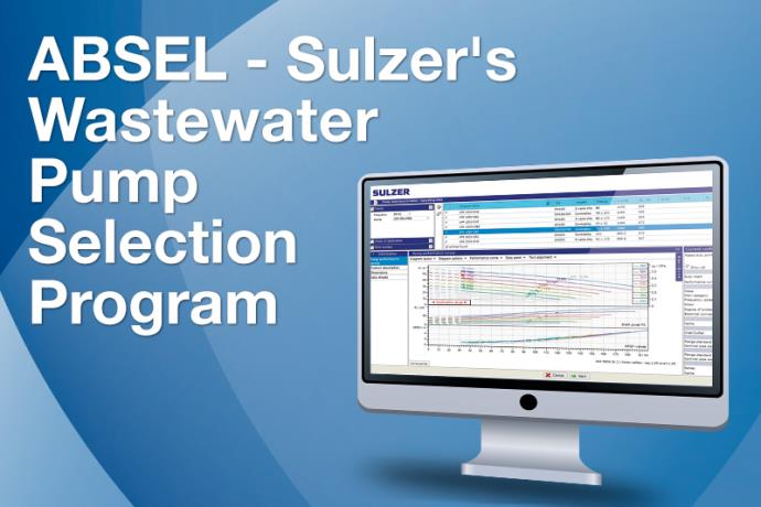 ABSEL is an internet-based software tool that allows users to select pumps for the wastewater industry