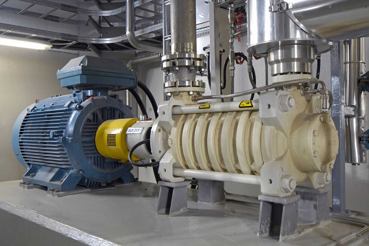 MBN medium pressure stage casing pump in a power plant