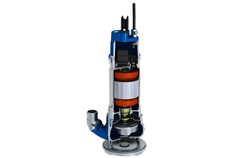 Submersible sludge pump JS