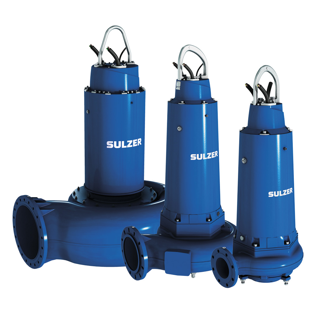 Submersible sewage pumps type ABS XFP (30-400 kW)