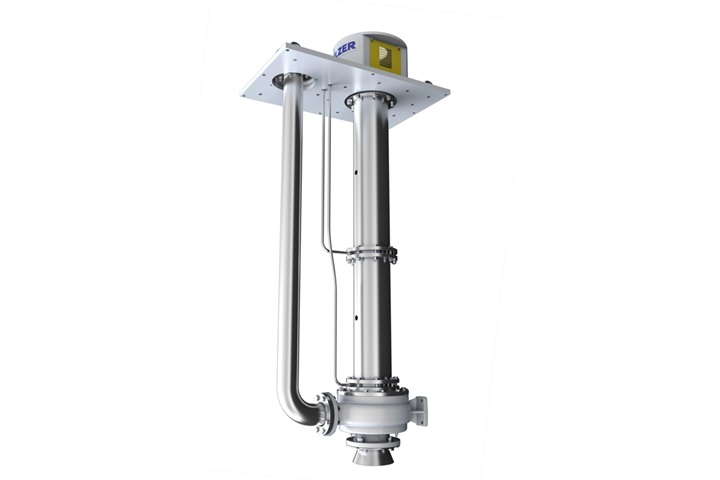 AHLSTAR NV non-clogging vertical line shaft slide bearing sump pump