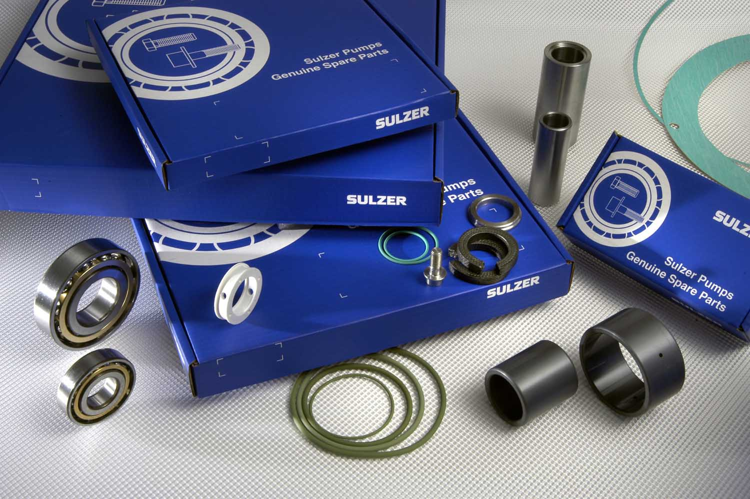 Bearing assembly service kit for centrifugal process pump BE